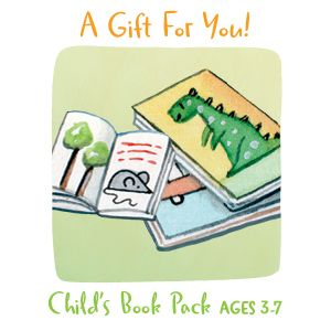 Share Christmas with Books for a 3-7 Year Old Child
