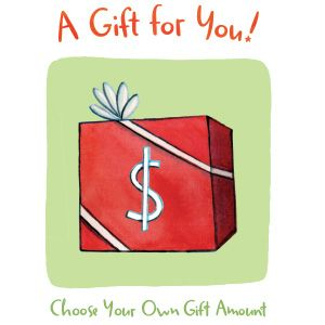 Choose Your Own Gift Amount