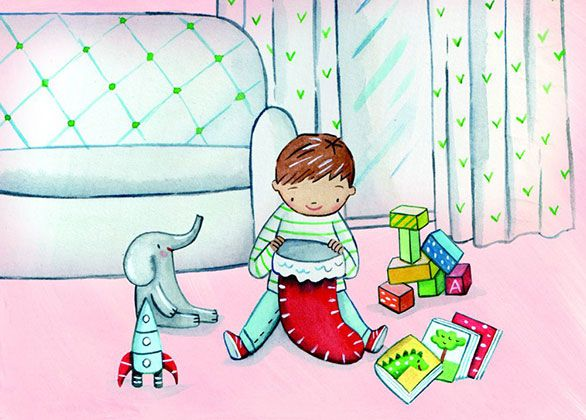 Share Christmas with a Toy & Book Pack for a Baby