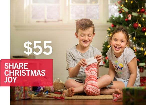 Share Christmas Joy with a Child Most in Need $55