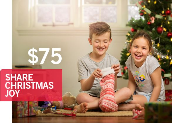Share Christmas Joy with a Child Most in Need $75